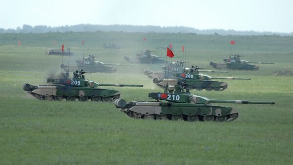 Peaceful Mission 2009 military exercise final rehearsal in China - Sputnik International