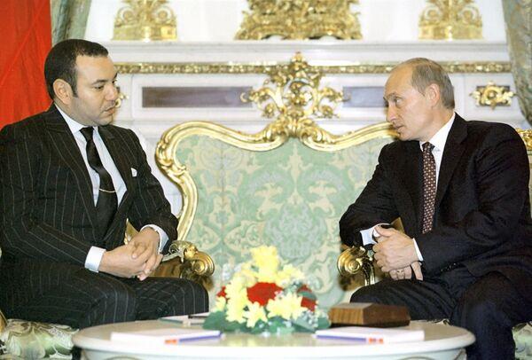 Moroccan King Mohammed VI - Sputnik International