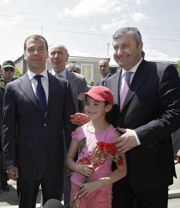 The president of the former Georgian republic of South Ossetia, Eduard Kokoity - Sputnik International