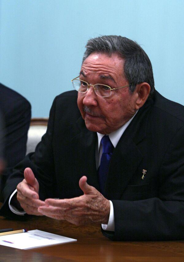Cuban leader says U.S.-Colombian military base deal aggression - Sputnik International