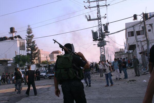 Israel kills two Hamas fighters in Gaza - Sputnik International