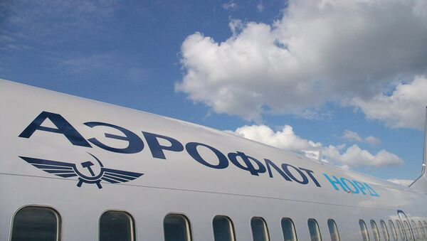Aeroflot's half-year net profit down 80% to $14 mln - Sputnik International