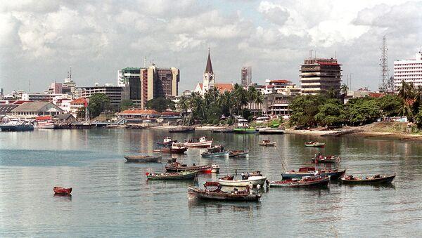Dar-es-Salaam port in Tanzania - Sputnik International