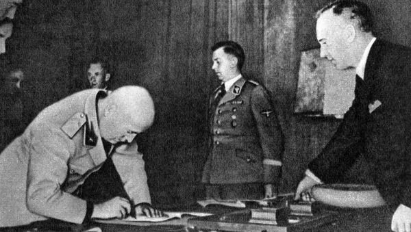 Treaty of Non-Aggression between Germany and the USSR (Molotov-Ribbentrop Pact) - Sputnik International