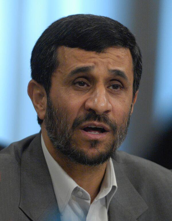 Iranian President Mahmoud Ahmadinejad - Sputnik International