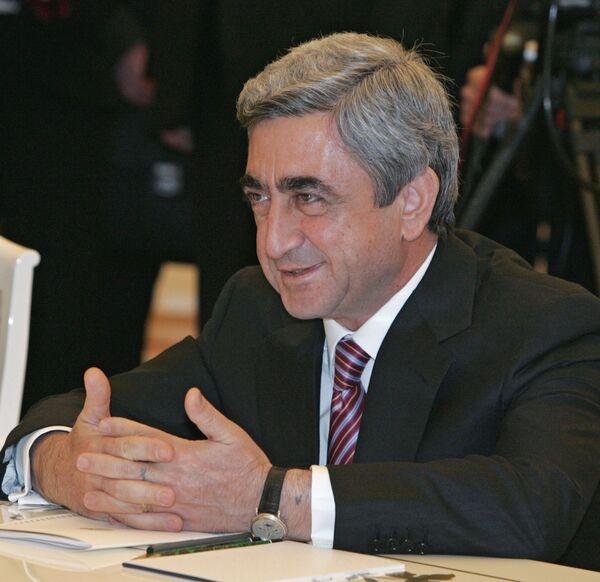 Armenian president upbeat over agreement with Turkey - Sputnik International