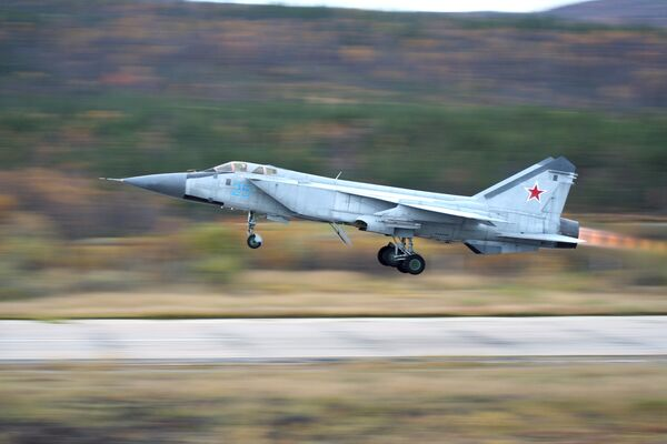 The MiG-31 interceptor - Sputnik International