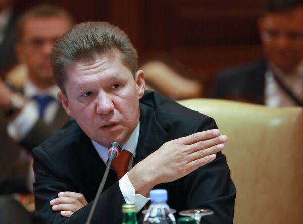 Gazprom chairman Alexei Miller - Sputnik International