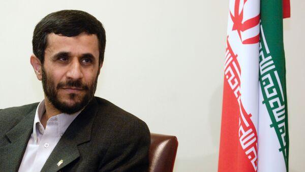 Ahmadinejad in New York City - Sputnik International