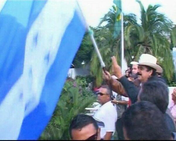 Manuel Zelaya returns to Honduras  - Sputnik International