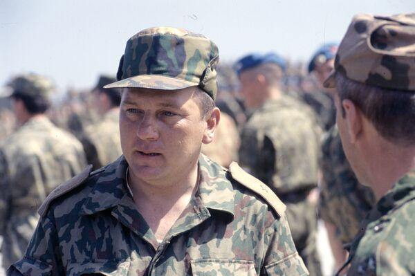 Lt. Gen. Vladimir Shamanov - Sputnik International
