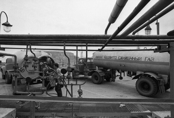 Odessa Port plant - Sputnik International