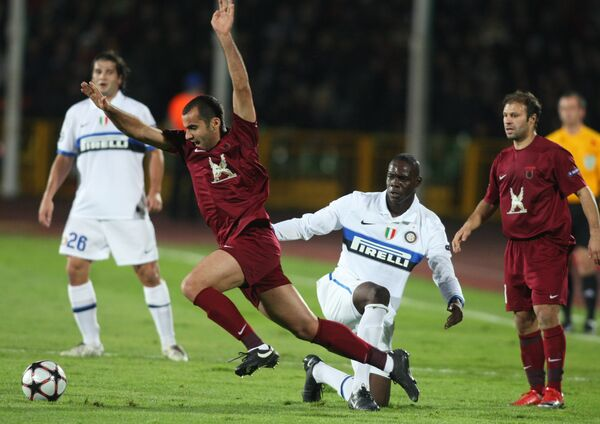 Champions League. Rubin Kazan - Inter Milan - Sputnik International