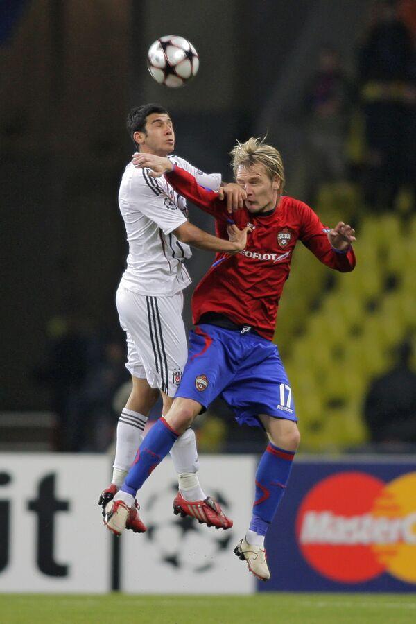 UEFA Champions League, Group stage, Matchday 2: CSKA Moscow 2-1 Beşiktaş J.K. Istanbul - Sputnik International