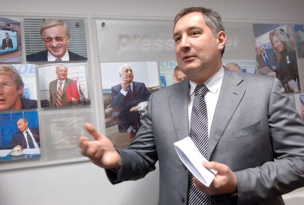 Russian Ambassador to NATO Dmitry Rogozin - Sputnik International