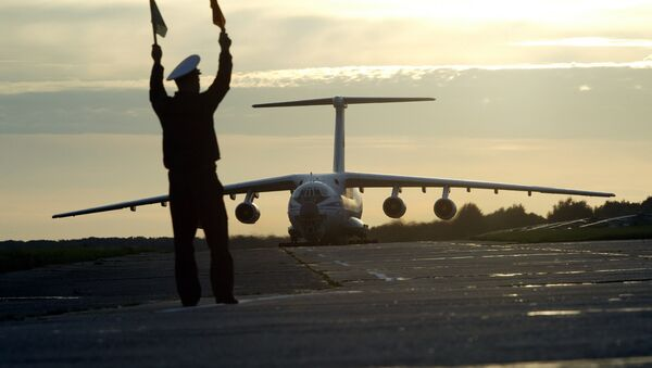 The Il-76 - workhorse strategic airlifter of the Russian Aerospace Defense Forces - Sputnik International