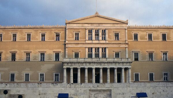 Greece faces internal turmoil if it leaves the eurozone - Sputnik International