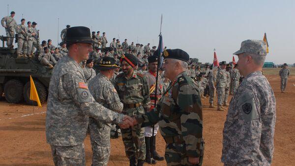 India, U.S. start large-scale military exercises - Sputnik International