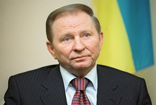 Leonid Kuchma served as President of Ukraine from 1994 to 2005 - Sputnik International