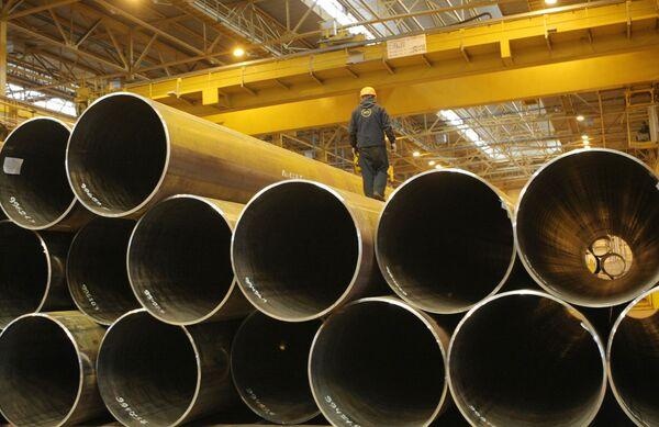 Russian steelmaker Evraz sees output down 13.2% in 3Q09 - Sputnik International