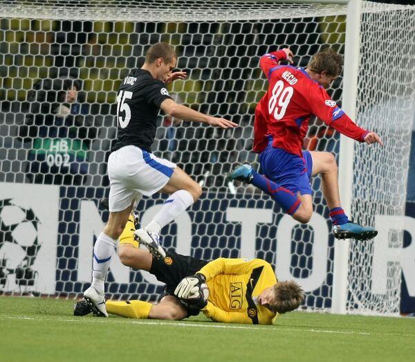 Man Utd grind out narrow win over CSKA in Moscow - Sputnik International