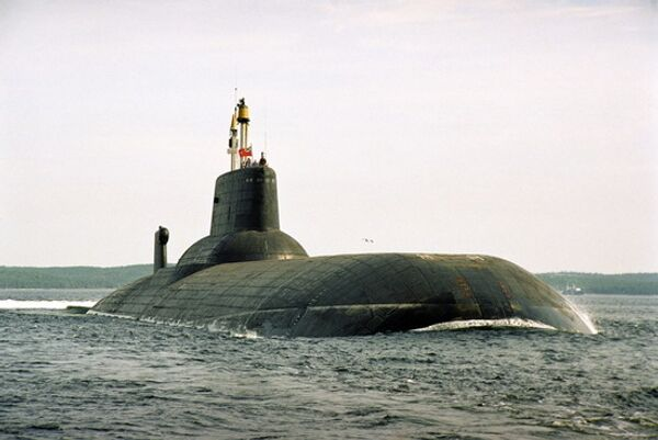 Dmitry Donskoy submarine prepares for future Bulava missile tests - Sputnik International