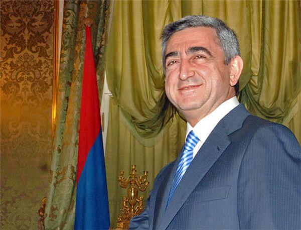 Serzh Sargsyan - Sputnik International
