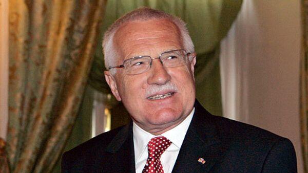 Czech President Klaus signs EU reform treaty - Sputnik International
