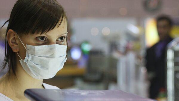 Preventive measures against swine-flu outbreak at Moscow's Sheremetyevo-1 airport - Sputnik International