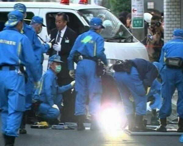 62 year old Japanese gang member shoots 3 then himself - Sputnik International