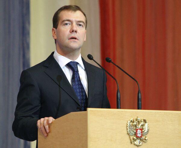 Medvedev says Russia must rise higher on civilization ladder - Sputnik International