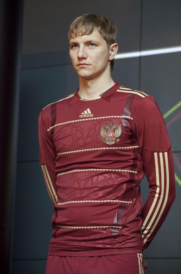 Presentation of the Russian football team's new kit - Sputnik International