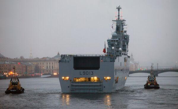 Mistral-class warship - Sputnik International
