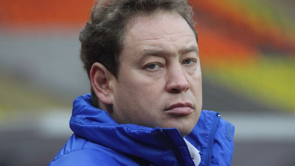 CSKA Moscow coach Leonid Slutsky - Sputnik International
