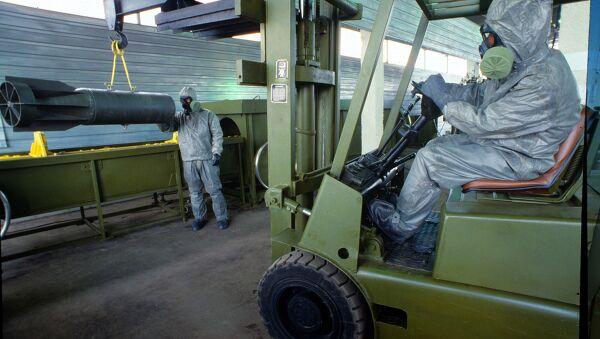 chemical weapons - Sputnik International