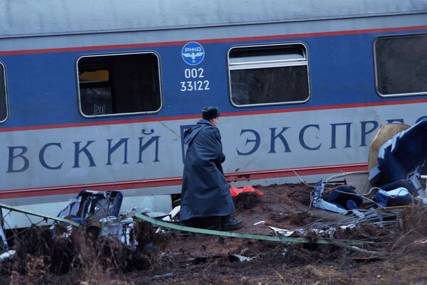 Крушение Невского экспресса - Sputnik International