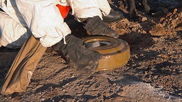 Mines found next to rail track in south Russia - Sputnik International