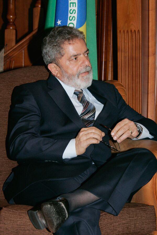 Brazilian President Luiz Inacio Lula da Silva  - Sputnik International