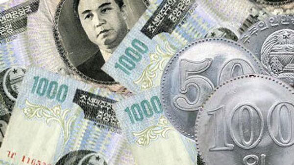 North Korean currency - Sputnik International