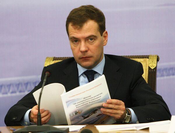 Medvedev - Sputnik International