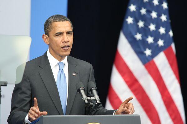 Obama offers condolences over Russian mine accident - Sputnik International