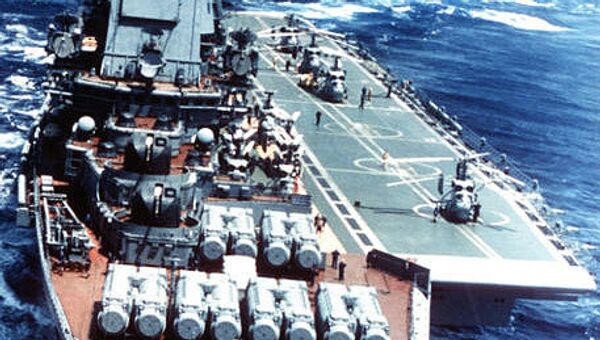 Admiral Gorshkov aircraft carrier - Sputnik International