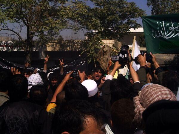 Afghan students protest against NATO over civilian deaths  - Sputnik International