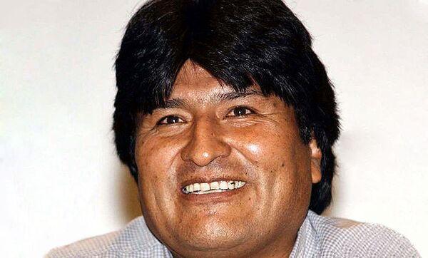 Evo Morales - Sputnik International