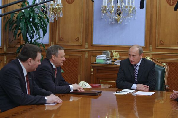 Company President Alexander Bobryshev told Russian Prime Minister Vladimir Putin the research on the new aircraft project should be completed by 2012, while production-line assembly should start in 2020 to 2025.  - Sputnik International