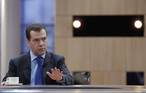 Dmitry Medevedev - Sputnik International