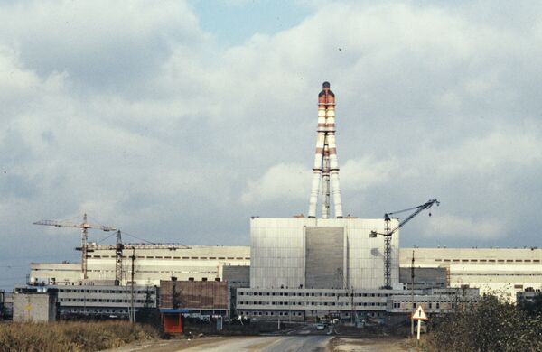 The Ignalina nuclear power plant is of a similar design to the power plant that exploded in 1986 in Chernobyl, Ukraine. - Sputnik International