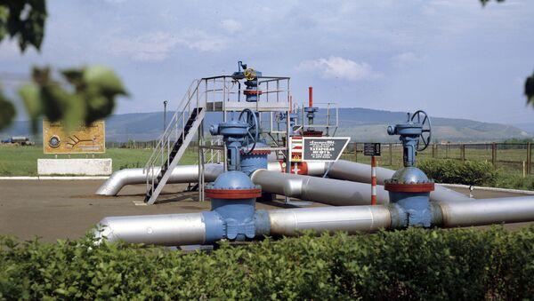 Druzhba oil pipeline's initial junction - Sputnik International