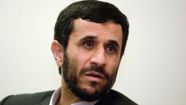 Mahmoud Ahmadinejad - Sputnik International