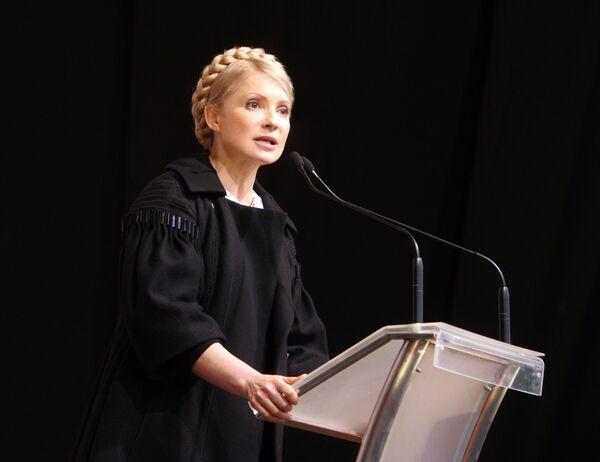Ukrainian Prime Minister Yulia Tymoshenko - Sputnik International